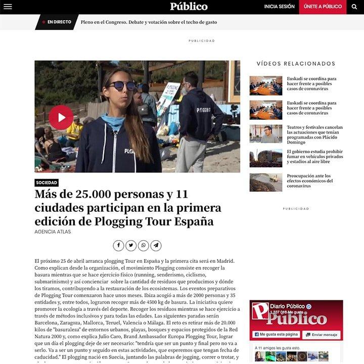Prensa   Plogging Tour