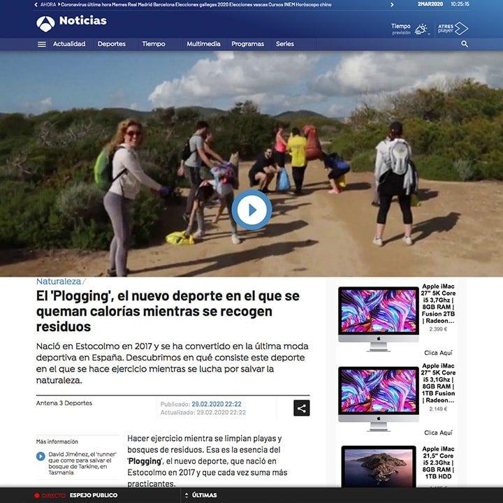 Prensa - Nationale Nederlanden Plogging Tour