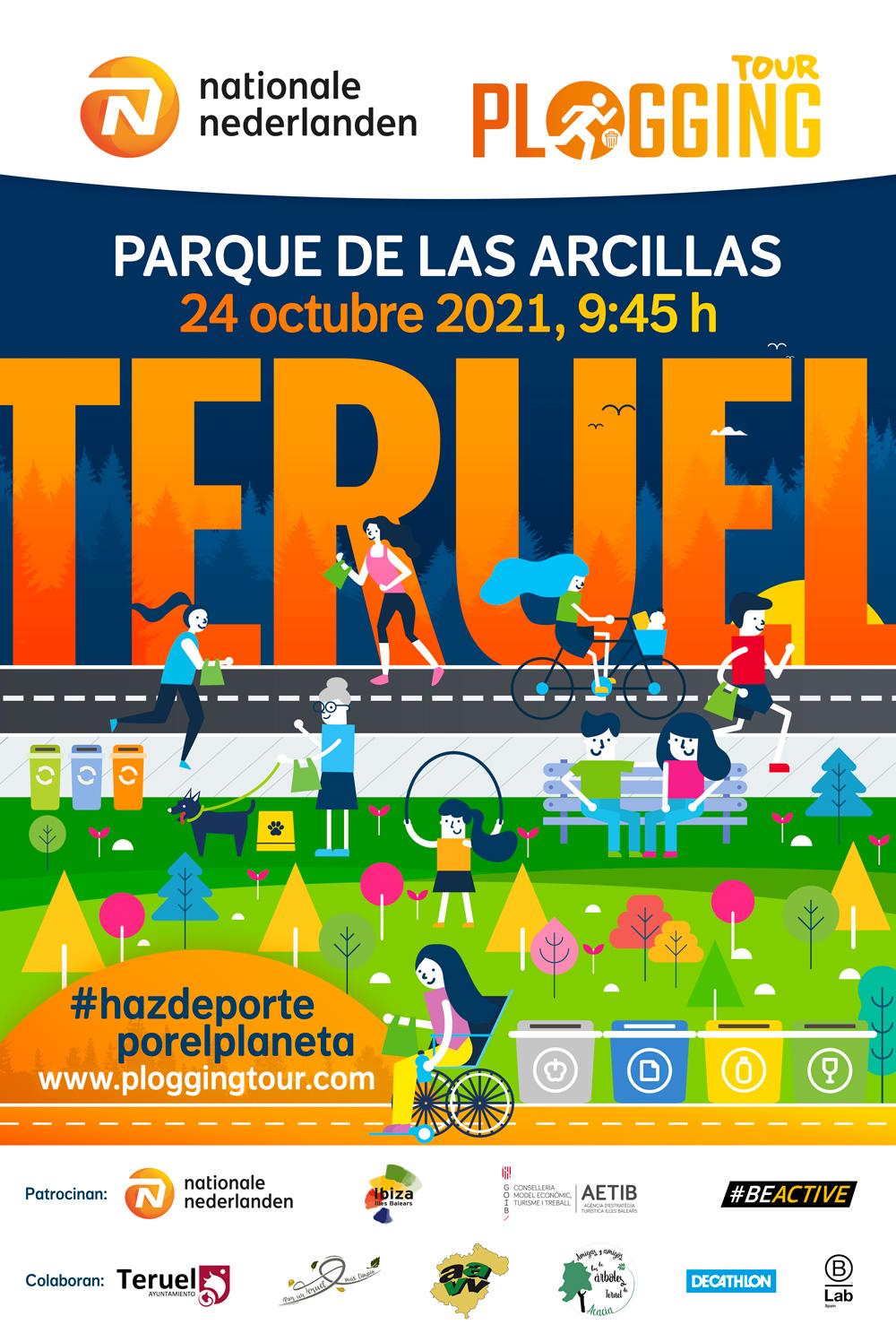 Teruel Plogging Tour 2021
